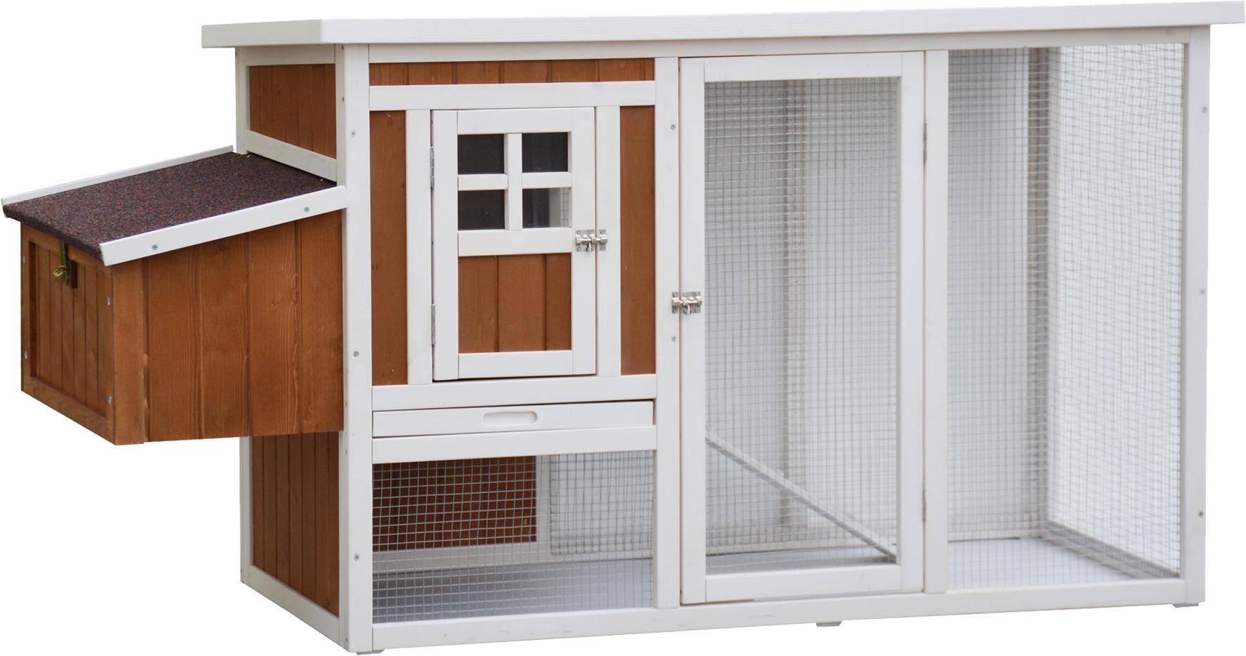 Kaninchen- Meerschweinchen Außenstall Hühnerstall Mansion Image